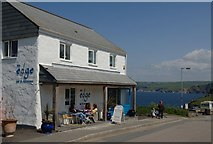 SW9980 : From The Edge restaurant Port Isaac by the coastal footpath. by anne