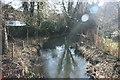 TQ5261 : River Darent, Shoreham: upstream by N Chadwick