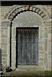 SO7937 : Door, Castlemorton Church by Philip Halling