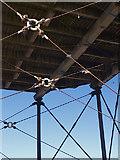 NZ6621 : Underneath Saltburn Pier by Stephen McCulloch