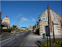 SK2756 : Looking up Main Street, Middleton by Wirksworth by Peter Barr