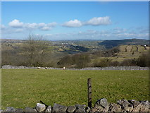 SK2756 : View from a track west of Middleton by Wirksworth by Peter Barr