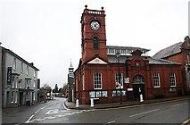 SO2956 : Market Hall, Upper Cross by Bob Embleton