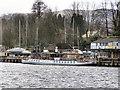 SD3787 : Lakeside pier by David Dixon
