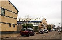 TQ2672 : Business units, Maskell Road, Summerstown by Derek Harper