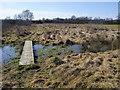 SP8416 : Footpath to A418 by Shaun Ferguson