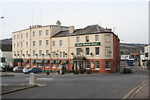 SX9193 : The Great Western Hotel at St David's by Rod Allday