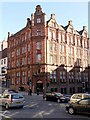 NZ2564 : Churchill House, Mosley Street & Dean Street by Andrew Curtis