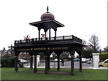 TQ2804 : Jaipur Gate, Hove Museum, Hove by nick macneill