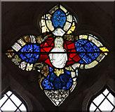 TR1148 : St Bartholomew, Waltham, Kent - Window by John Salmon
