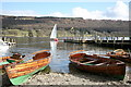 SD3097 : Boats for Hire beside Coniston Pier by Rob Noble