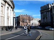 O1534 : College Green, Dublin by Eric Jones