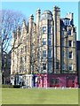 NT2472 : Barclay Terrace from Bruntsfield Links by kim traynor