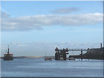 NZ3668 : Jetty on the south bank of the Tyne by Christine Johnstone