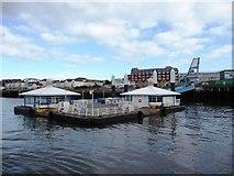 NZ3567 : South Shields ferry terminal by Christine Johnstone
