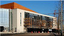 J3574 : New Public Records Office for Northern Ireland, Belfast by Albert Bridge