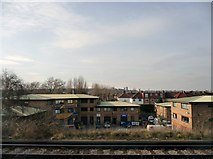 TQ2572 : London : Wandsworth : Railway Scenery by Lewis Clarke
