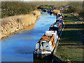 SU0762 : More canal boats on the Kennet and Avon canal, All Cannings Bridge by Brian Robert Marshall