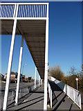 SZ0894 : Bournemouth : Boundary Road Foot Bridge by Lewis Clarke