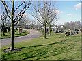 SO8895 : Penn Cemetery, Spring Hill, Wolverhampton by Roger  Kidd