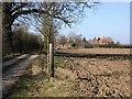 SP2053 : Cross O' Th' Hill Farm and B and B by David P Howard