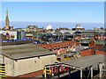 NZ2463 : Railway Goods Yards from Redheugh Bridge by Andrew Curtis