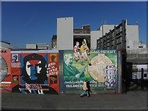 J3274 : Murals, West Belfast (1) by Kenneth  Allen