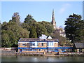 SX9291 : The Port Royal Inn Pub, Exeter, Exeter Ship Canal by canalandriversidepubs co uk