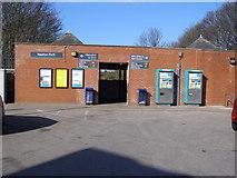SD8203 : Heaton Park Station Entrance by David Dixon