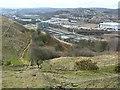 SE1719 : View from Round Hill Lane, Kirkheaton by Humphrey Bolton