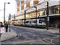 SJ8498 : Mosley Street tram stop by David Dixon