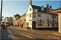 SY6778 : Weymouth: The Ship Inn, Custom House Quay by Mr Eugene Birchall