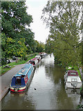 SK1705 : Birmingham and Fazeley Canal at Hopwas, Staffordshire by Roger  Kidd