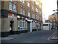 TQ3279 : Vine Yard & Wallis Alley, Southwark by Stephen Craven