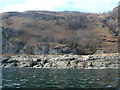 NM7024 : Shore below Cruach na h-Airighe by Andy Waddington