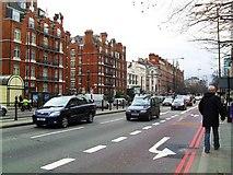 TQ2882 : Marylebone Road at Baker Street Station by Dean Molyneaux
