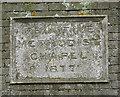 TG4003 : Primitive Methodist chapel in Reedham Road - date stone by Evelyn Simak