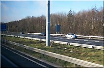 O1740 : The north-bound carriageway of the M1 at Coolock by Eric Jones