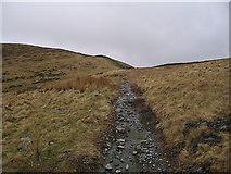 SH6219 : Approaching Bwlch y Rhiwgyr by Rudi Winter