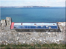SX9456 : Panorama of Torbay, with viewpoint guide by Roger Cornfoot