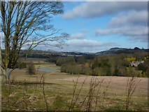 SK2850 : Ecclesbourne Valley, looking towards Wirksworth by Peter Barr