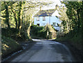 ST6360 : 2010 : Cottage at the top of the hill by Maurice Pullin