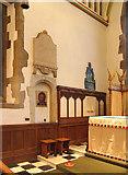 TQ1289 : St John the Baptist, Church Lane, Pinner - Sanctuary by John Salmon