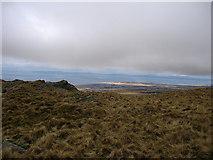 SH6220 : Diffwys ridge near Bwlch y Rhiwgyr by Rudi Winter