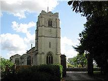 TL3949 : Barrington: All Saints by John Sutton