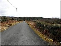 C2021 : Road at Gortin by Kenneth  Allen