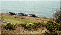 J4791 : Coastal railway, Whitehead by Albert Bridge