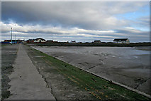 SD3448 : Ferry slipway at Knott End by Kate Jewell