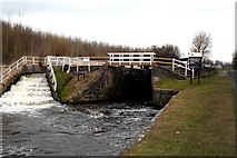 SD8639 : Leeds & Liverpool Canal:  Tail of Barrowford Bottom Lock No 51 by Dr Neil Clifton
