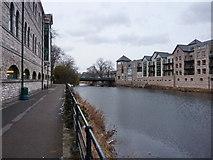 SD5193 : River Kent with Victoria Bridge by Alexander P Kapp